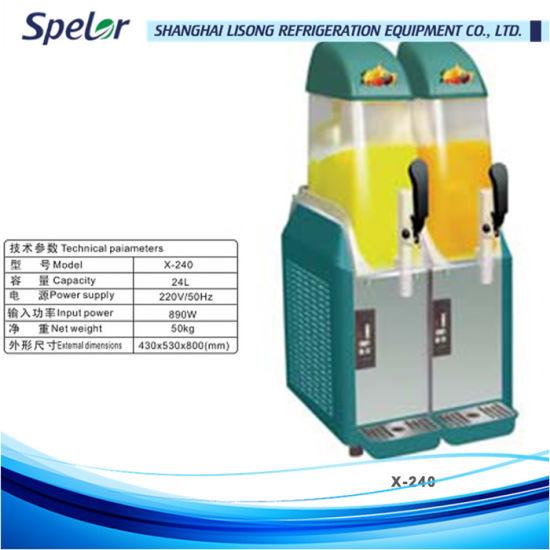China Commercial Stainless Steel Slush Machine - China Slush