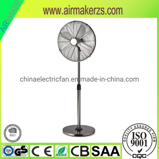 Ce 16 Inch Round Pedestal Electric Stand Fan Air Fan