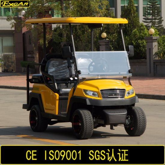 Club Car New Design 4 Seater Electric Golf Cart pictures & photos
