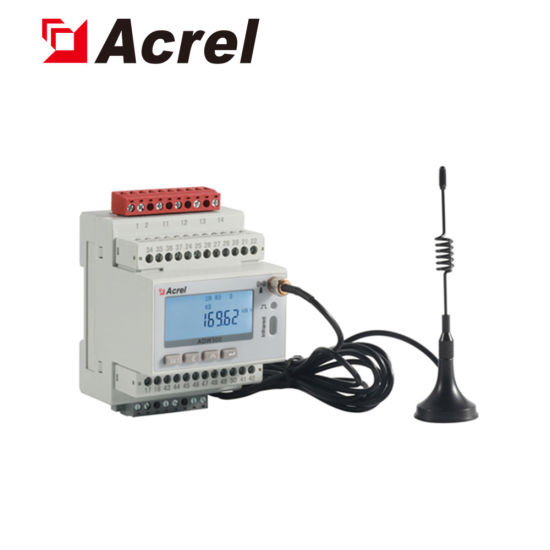 Acrel Adw300/C 660V Three Phase AC Multifunction Iot Wireless DIN Rail Energy Meter with RS485 Modbus Optional 4di/2do 1 Channel Leakage Current pictures & photos
