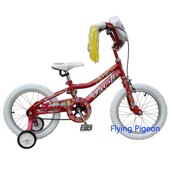 White Tire Rear Coaster Brake Kids Bicycle (FP-KDB006) pictures & photos