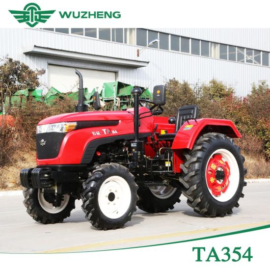 Agricultural 4 Wd Chinese Waw 35HP Tractor for Sale