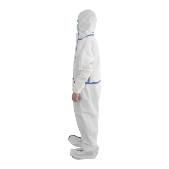Healthcare Workers Wear Protective Clothing
