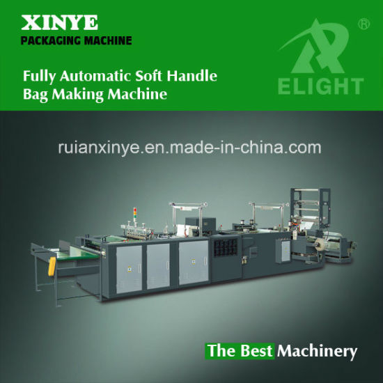 Fully Automatic Soft Handle Bag Making Machine (XY-750ZD / XY-850ZD / XY-1000ZD)
