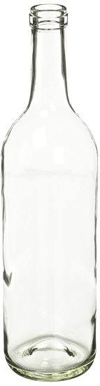 750 Ml Clear Glass Claret/Bordeaux Bottles
