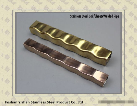 ASTM A554 Color Stainless Steel Ornament Square Tube pictures & photos
