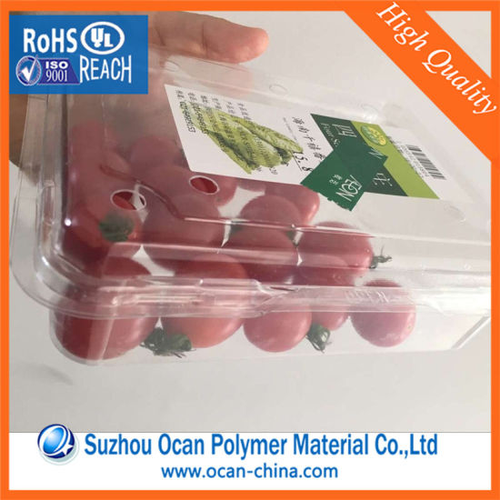Transparent Pet Clear Film for Medicine Packaging Film pictures & photos