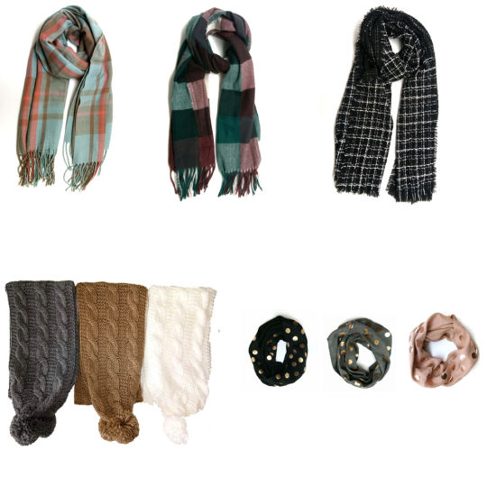 Ladies′ Winter Warm Fashion Knit Scarf pictures & photos