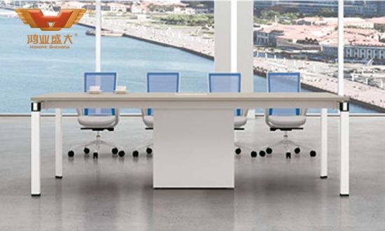 4 Seater Office Staff Work Desk Call Center Modular Cubicle Workstation (H50-0215) pictures & photos