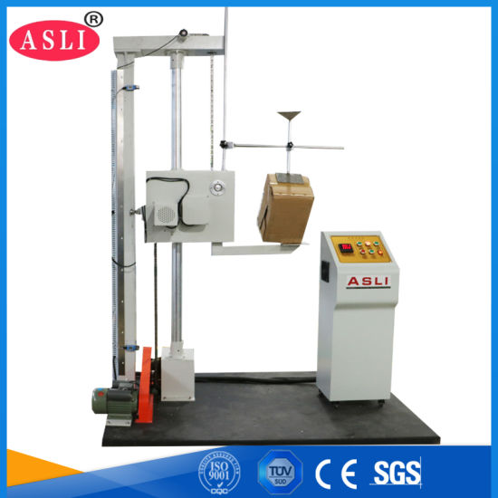 professional Factory Carton Drop Package or Paper Falling Dart Impact  Strength Test Machine for Plastic Bottle
