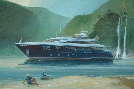 Dafman 135 Luxury Yacht for Fishing