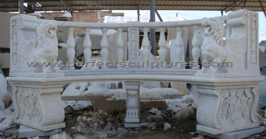 Antique Garden Chair with Stone Marble Granite Limestone Sandstone (QTC068) pictures & photos