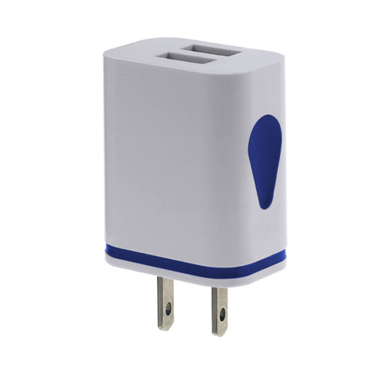 Quick Charge 3.0 USB Charger Dual 2.1A Phone Wall Charger