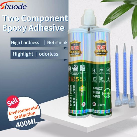 Wholesales Transparent 5 Mins 50ml Ab Glue Adhesive Epoxy Resin and Acrylic Adhesive