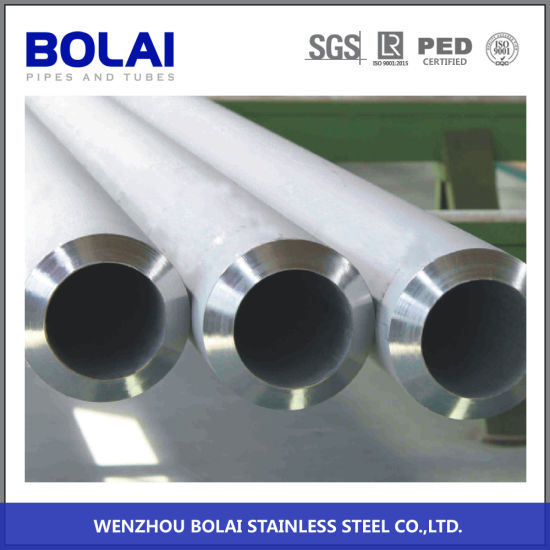 Tp316 TP304 ASTM312 ASTM213 Cold Rolled Seamless Stainless Steel Pipe