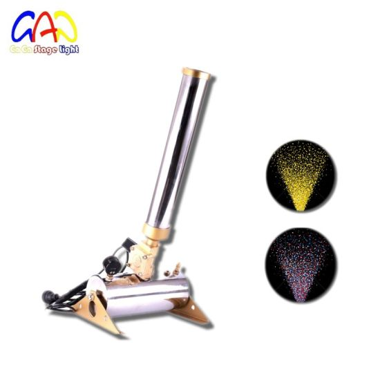 Professional Stage Effect Party Paper Confetti Cannon Machine
