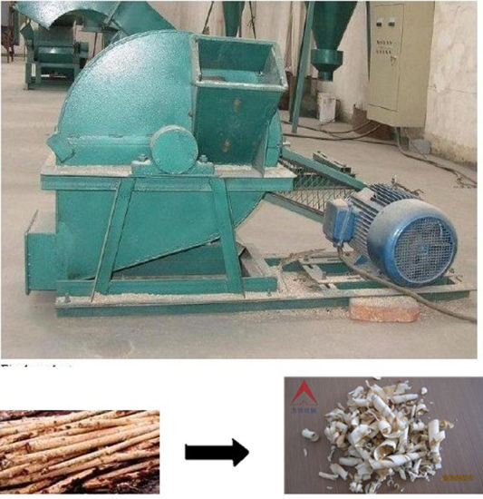 Animal Bedding Wood Shaving Wood Grinding Chipping Machine (WSHT)