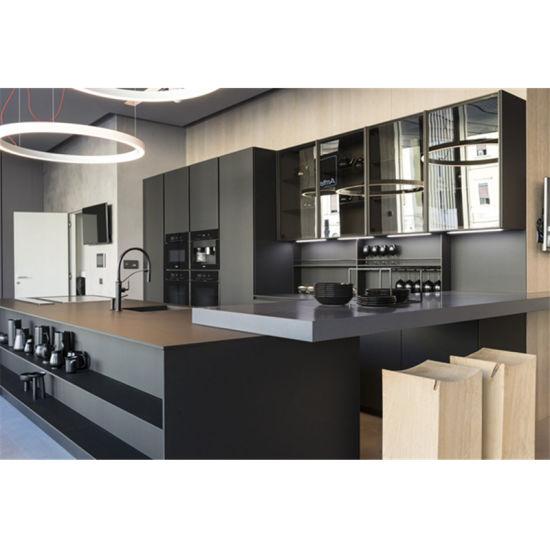 China European Style Display Wooden Kitchen Cabinets For Sale China Kitchen Cabinets Wood Veneer Kitchen Cabinets