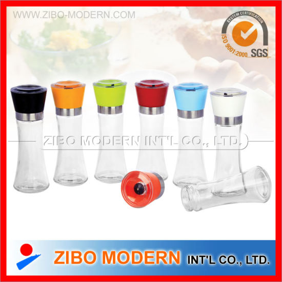 Glass Pepper Mill / Hand Operated Pepper Grinder pictures & photos