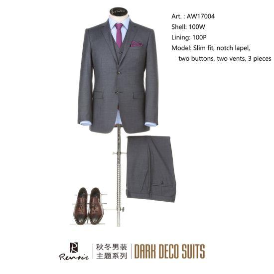 OEM 3 Pieces Slim Fit Men's Business Suit
