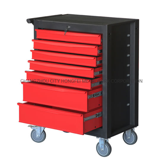 5'' PVC Casters Rubber Grip Side Handles Side Tool Box