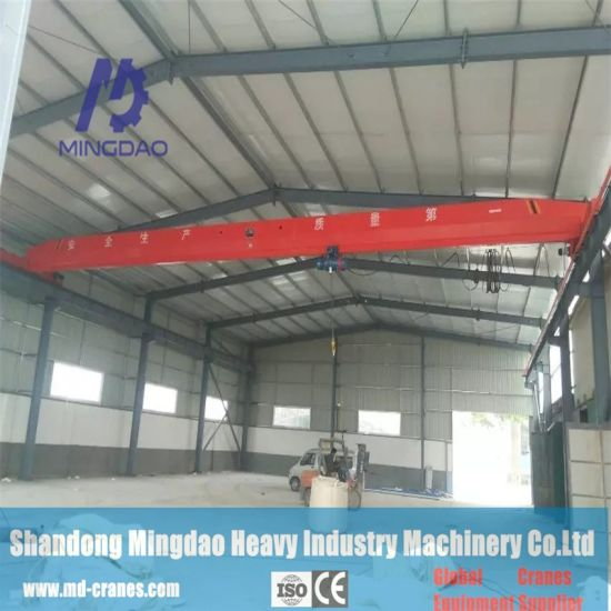 15t Electric Overhead Travelling Yellow Single Beam Overhead Crane