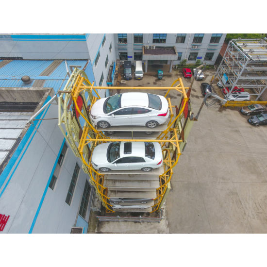 Automated Mechanical Vertical Rotary Car Parking System with Ce and SGS Approval