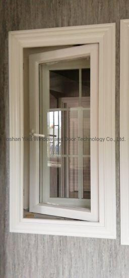 Cheap UPVC Casement Aluminum Alloy Windows with Anti Mosquito Net Screen