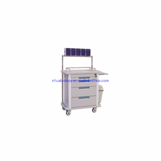 Rh-Cmz101 ABS Anaesthetic Trolly to Hospital Furniture pictures & photos