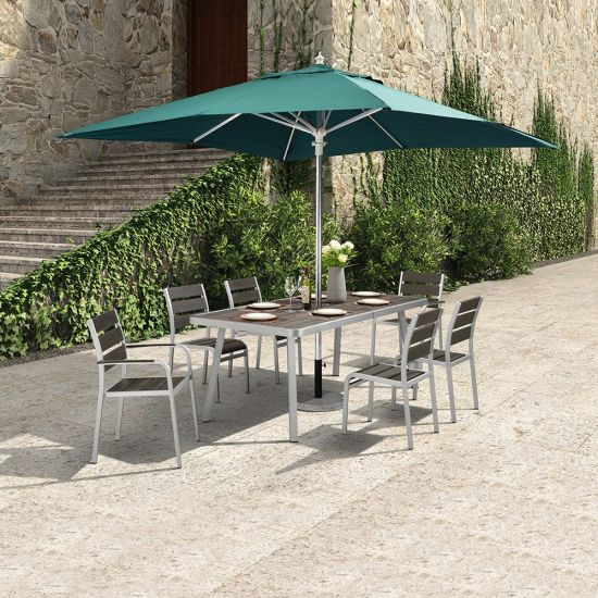 Astounding China Leisure Garden Set Patio Furniture With An Extendable Inzonedesignstudio Interior Chair Design Inzonedesignstudiocom