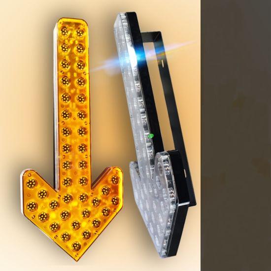 LED Road Sweeper Sprinkler Warning Light Vehicle Arrow Warning Light
