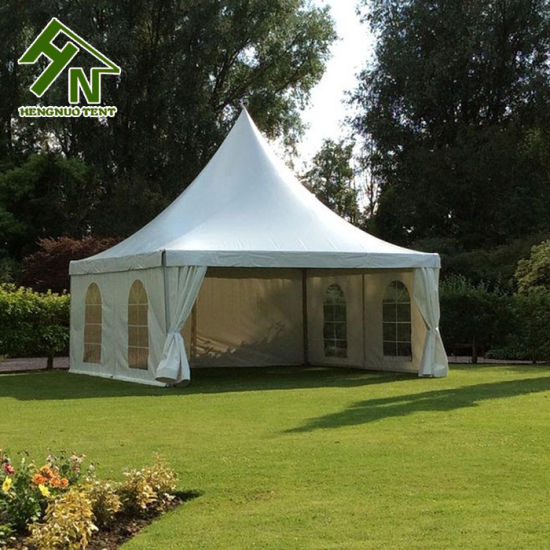 China Aluminum Structure 5x5 Pagoda Tent For Garden Events China