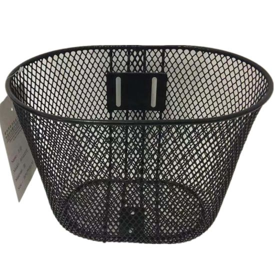 Simple Front Children Bicycle Basket Without Handle