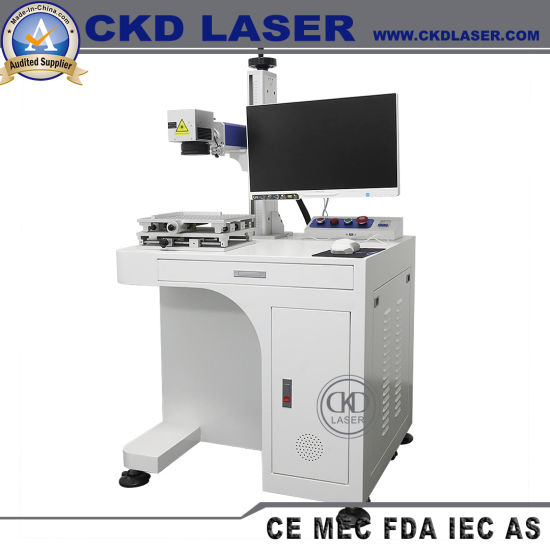 Fiber Laser Marking Machine for CNC Parts Price with Computer