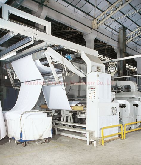 Automatic Woven Fabric/Sewing/Heat Power/Tensioning/Textile Knitting/Spray Glue Cotton Stenter Machine