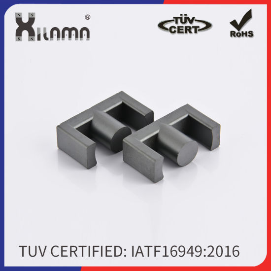 Mnzn Ferrite Core Magnets/Hige Permeability Magnetic Core/Transformer Core Power Transformer Core Material pictures & photos