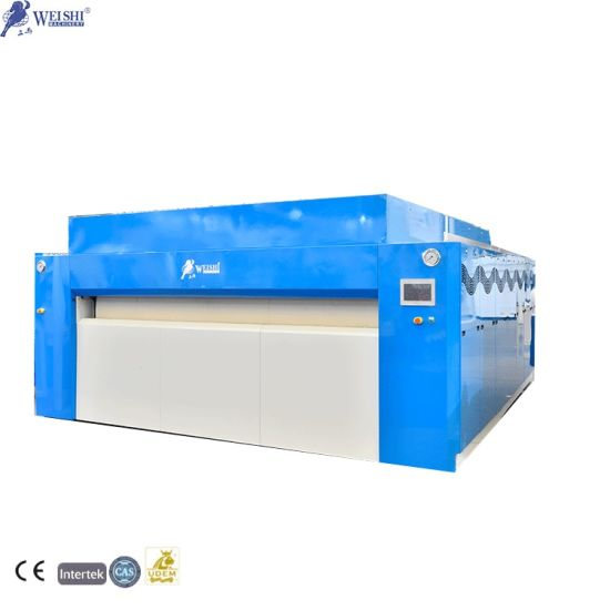 High Efficient Laundry Automatic Clothes Ironing Machine Roller Press Diameter 1600mm