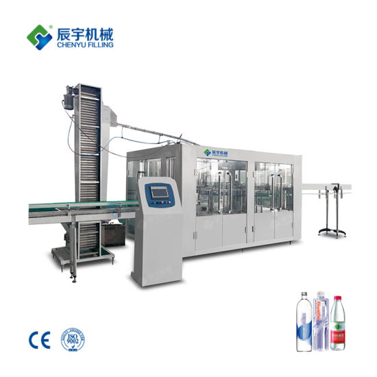 Automatic Bottling Plant Beverage/Soft Drink Mineral/Pure Water Liquid Bottling Filling Machine