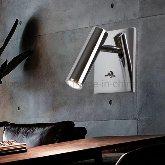 Bed Headboard Reading Night Lamp LED Indoor Night Lights 30 Degree Beam Angle Spot Nightlight Eye Protection Room Light
