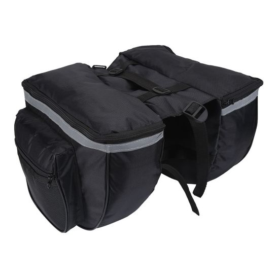 Polyester Double Saddle Panniers