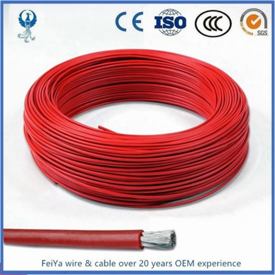 Silicone Rubber Cable with UL3239 PVC Copper Conductor Flexible Rubber XLPE Insulated Control Wire Electric Cable pictures & photos