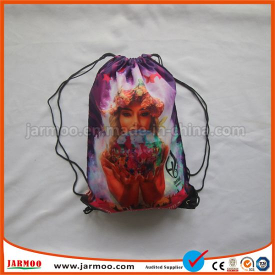 Promotional Printing Rope Drawstring Bag pictures & photos
