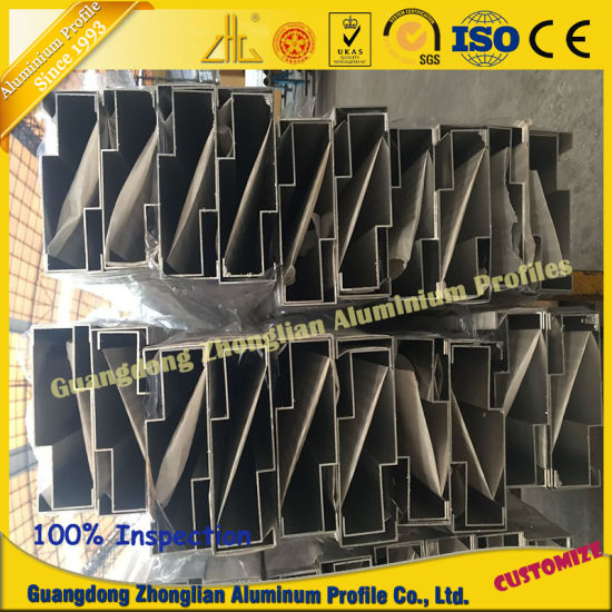 Powder Coating Aluminum Window Profile for Building pictures & photos