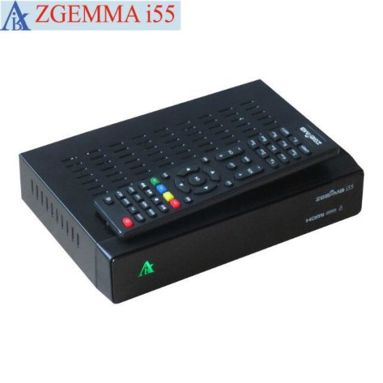 Original Linux OS Enigma2 IPTV Streaming Box Zgemma I55 High CPU Dual Core USB WiFi Player pictures & photos