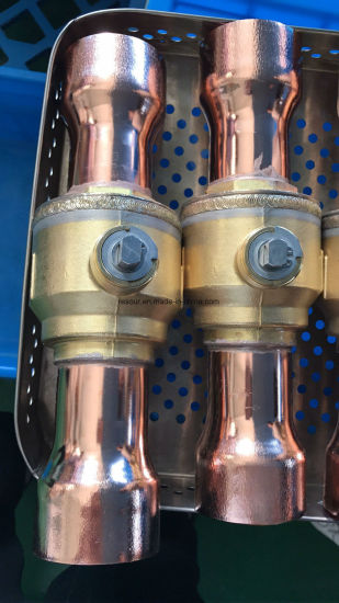Refrigeration Parts, Brass Ball Valve for Refrigeration, Charging Valve pictures & photos