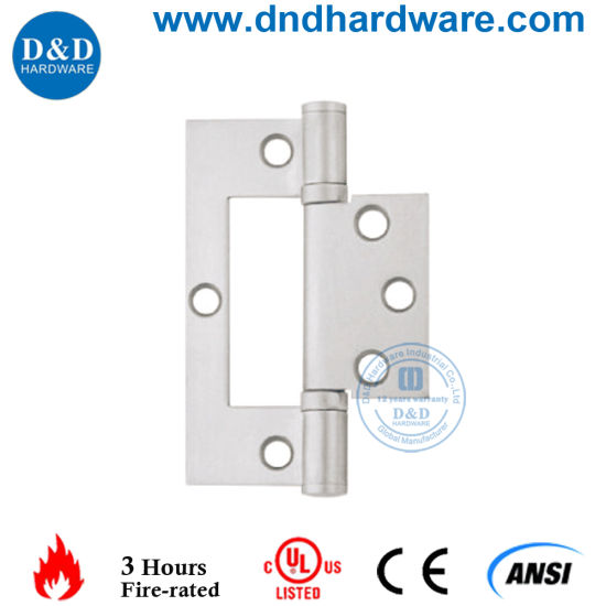 Furniture Hardware Commercial Flush Door Hinge With UL Certificate