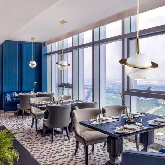 Nordic Modern Simple Light Luxury Marble Bedside Dining Chandelier