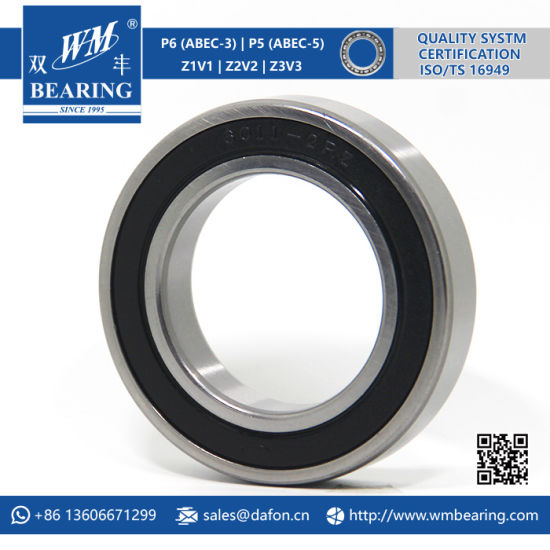 6011 Zz 2RS High Speed Spindle Radial Ball Bearing pictures & photos