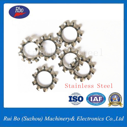 China Made Fastener DIN6797A External Teeth Lock Washers pictures & photos