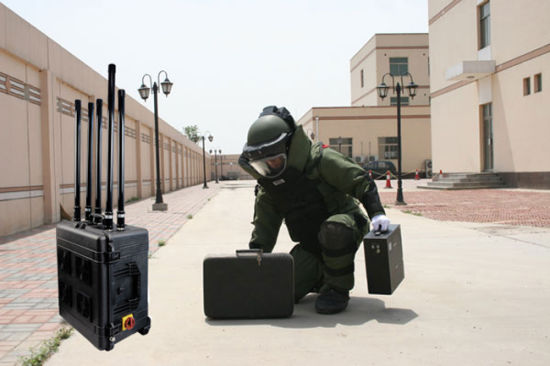 300W 6 Channel Vehicle Bomb Drone Jammer Signal Blocker pictures & photos